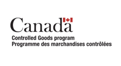Canada Controlled Goods Program logo